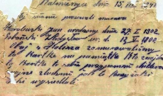 1941 yılında yazıldı, Hitler mesajı verildi