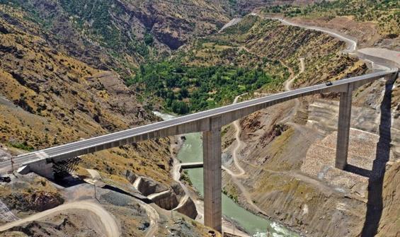 Türkiye'nin en yüksek köprüsü açılıyor!
