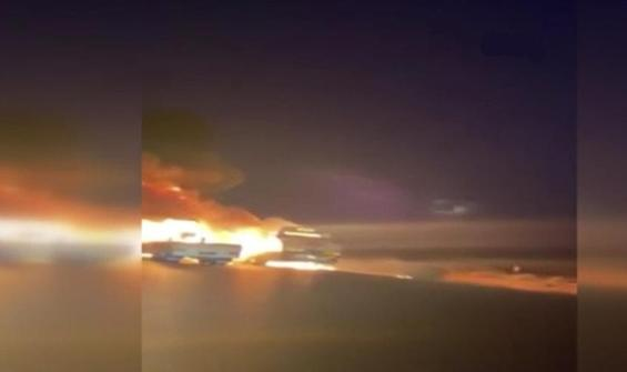 Irak'ta ABD ordusuna ait araçlar ateşe verildi!