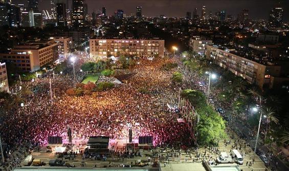 Tel Aviv'de Netanyahu'ya koronavirüs tepkisi!