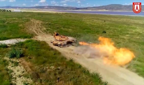 Modernize edilen M60TM tanklar görücüye çıktı