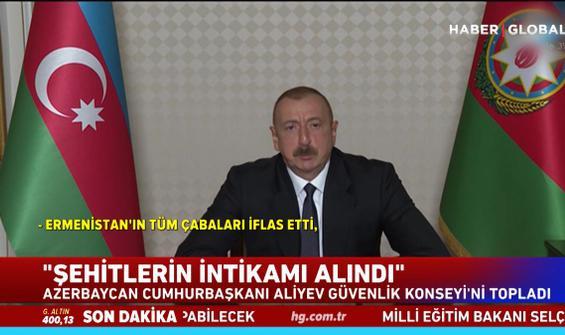 Aliyev'den Ermenistan'a: Geri adım atmayacağız!