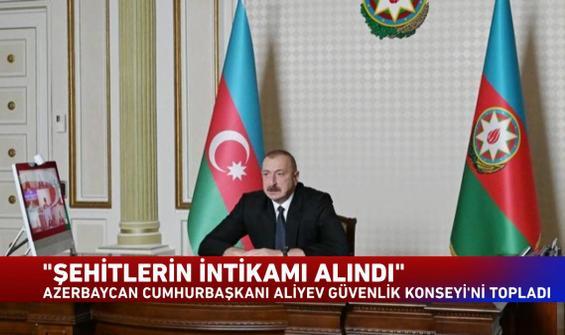 Azerbaycan Cumhurbaşkanı, Güvenlik Konseyi'ni topladı