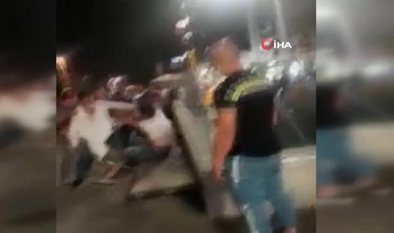 İki grubun kavgası Taksim'i savaş alanına çevirdi