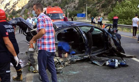 Adana'da korkunç kaza! 4 kişi öldü, 2 yaralı var