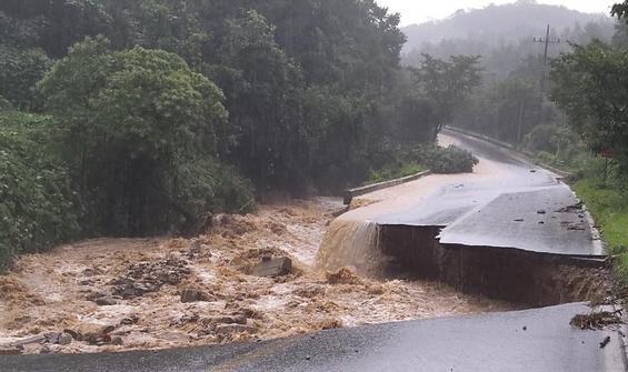 Güney Kore'de şiddetli yağış can aldı