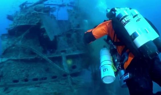 Deniz altındaki ölüm tuzağı!