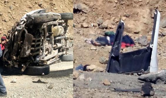 Piknik yolunda feci kaza!  6 kişi öldü