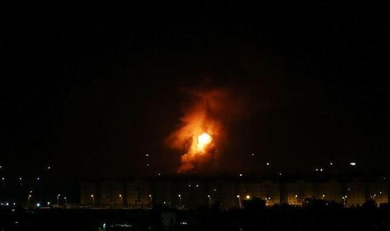 İsrail'den Suriye'deki rejim ordusu hedeflerine saldırı