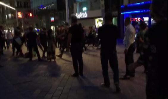 İstanbul'un ortasında kadınların laf atma kavgası