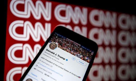 """Trump ve CNN arasında """"sahte kaynak"""" gerginliği"""
