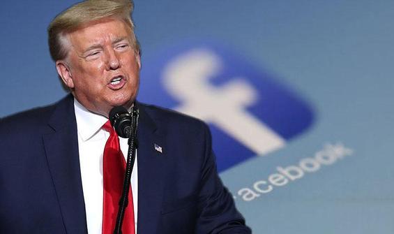 Facebook, Trump'ın Kovid-19 paylaşımını sildi
