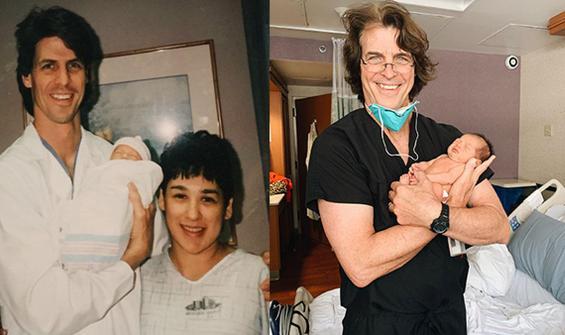 Hastanede 25 yıllık tesadüf