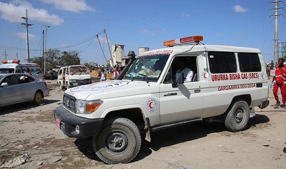 Somali'de şiddetli patlama: Ölü ve yaralılar var!