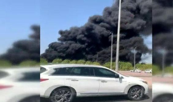 36 bin litre dizel yakıt taşıyan tanker böyle yandı