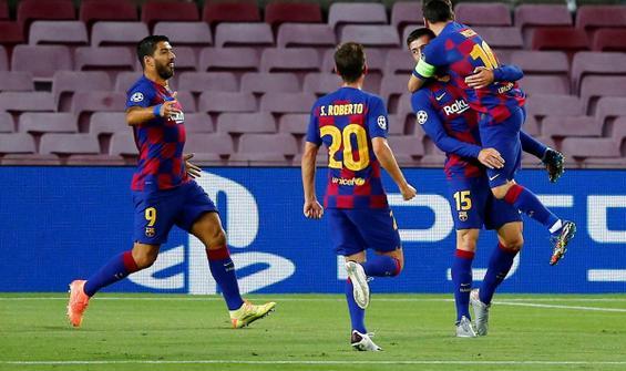 Barcelona Napoli'yi 3-1 mağlup etti
