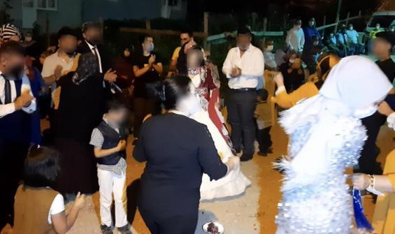 Bursa'da skandal olay! Gelin annesi düğünde virüs yaydı