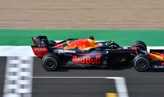 Büyük Britanya'da zafer Max Verstappen'in