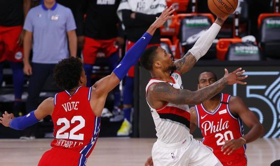 NBA'de Damian Lillard'ın gecesi
