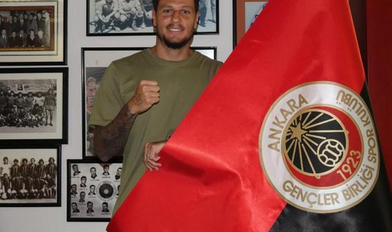 Gençlerbirliği'nin ilk transferi Diego Angelo