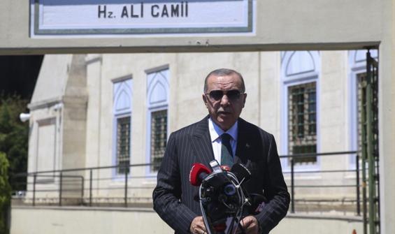 Cumhurbaşkanı Erdoğan'dan İsrail-BAE anlaşmasına tepki: Abu Dabi Büyükelçisini geri çekebiliriz