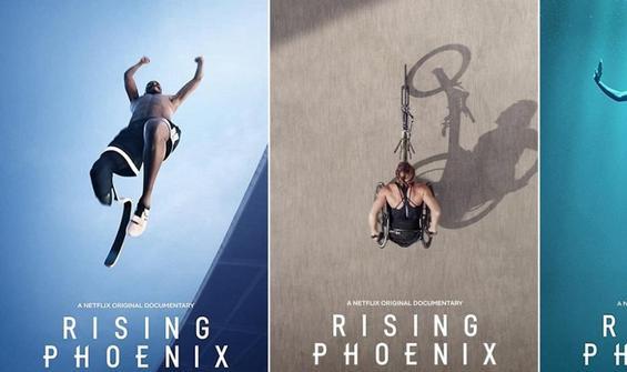 """Paralimpik sporcuların belgeseli: """"Anka Yükseliyor"""""""