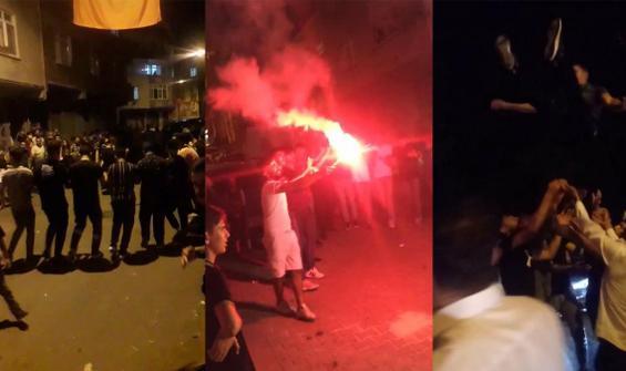 İstanbul'da korkutan görüntüler