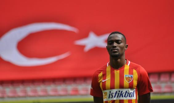 Bernard Mensah, Kayserispor'a veda etti