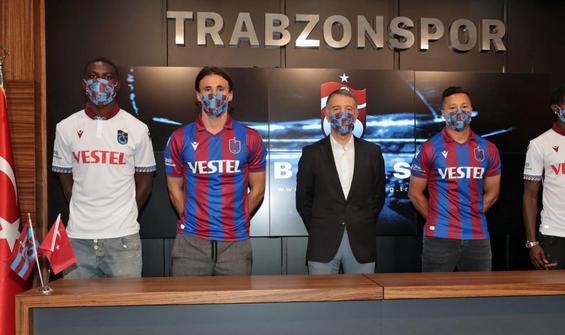 Trabzonspor'dan 4 transfer!