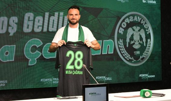 Konyaspor, Musa Çağıran'la sözleşme imzaladı