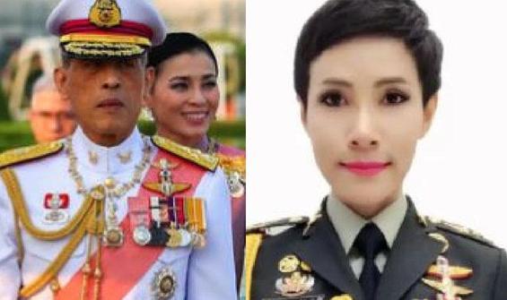 Tayland Kralı hapisteki sevgilisini affetti