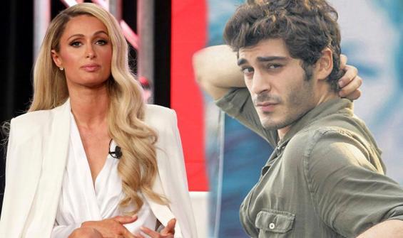 Paris Hilton, Burak Deniz'in fotoğrafına kayıtsız kalmadı! 'Ünlü biri mi?'