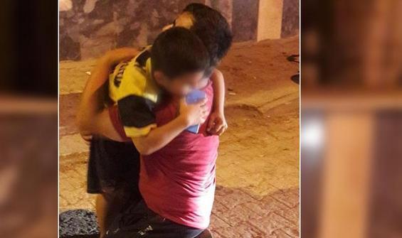 Bir babanın feryadına polis yetişti