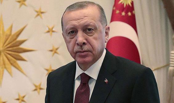 Cumhurbaşkanı Erdoğan'dan Suga'ya tebrik