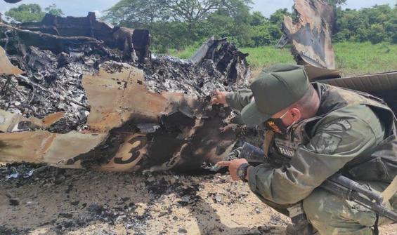 Veneuzela: Uyuşturucu taşıyan ABD uçağı vuruldu