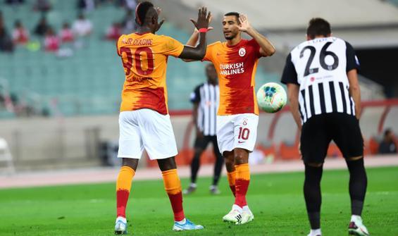 Galatasaray, Bakü'de turu 3 golle kaptı