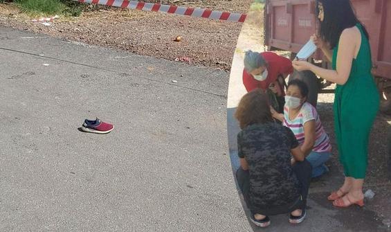 Küçük Ömer'den geriye ayakkabısı kaldı!