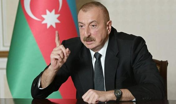 Aliyev'den Ermenistan'a sert tepki!
