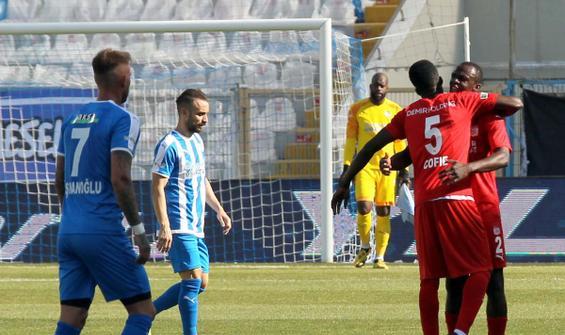 Erzurum'da kazanan Sivasspor
