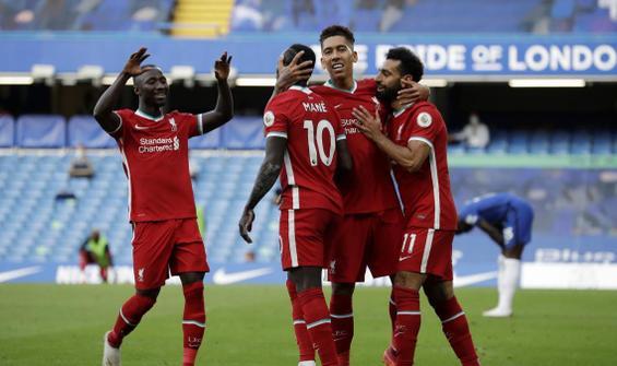 Liverpool, 10 kişi kalan Chelsea'ye acımadı