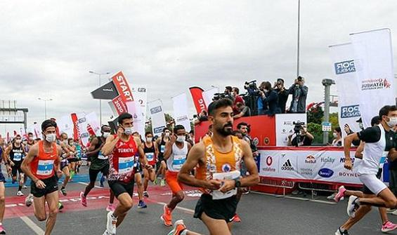 Sezgin Ataç'la Fatma Demir, yarı maratonun galibi