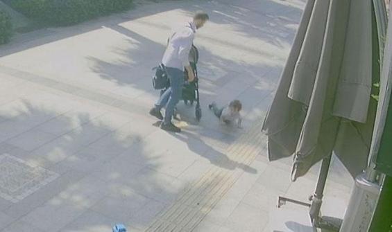 Çocuğuna şiddet uygulayan baba gözaltına alındı