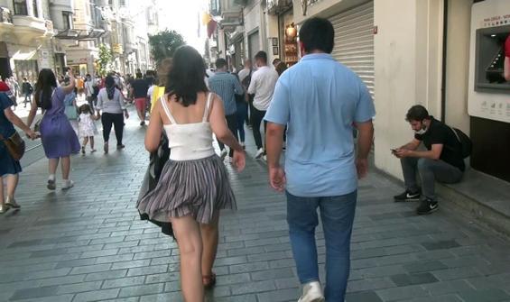 Taksim'de genç kadını takip eden şahıs hakkında yeni karar