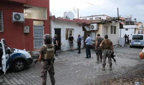 Hatay'da suç örgütlerine operasyon