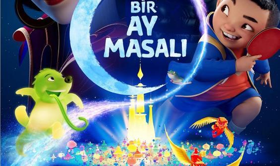 """Müzikal animasyon """"Bir Ay Masalı"""", 23 Ekim'de Netflix'te"""