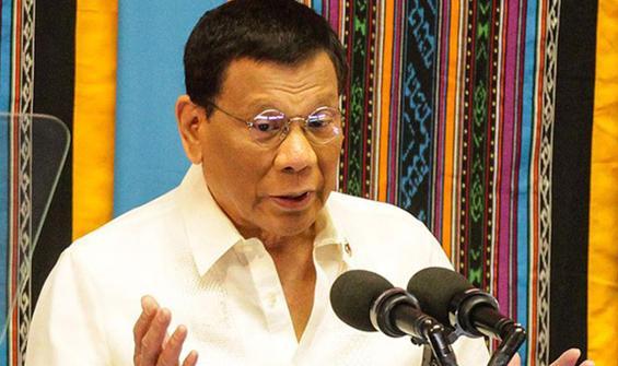 Duterte: Aşı küresel bir kamu malı olmalı