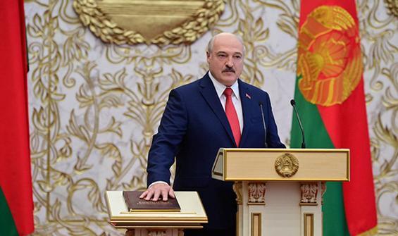 Tartışmalı seçim sonrası Lukaşenko gizli törenle yemin etti