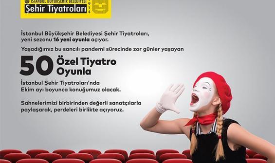 Şehir Tiyatroları, sahnelerini özel tiyatrolara açıyor