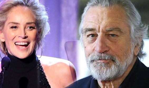 Sharon Stone: En iyisi Robert De Niro'ydu
