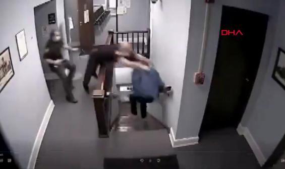 Hapis cezasını duyunca mahkemeden böyle kaçtı